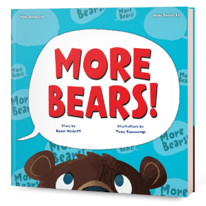 MORE BEARS! Create Your Own Story Book