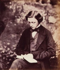 Lewis Carroll Self Portrait Circa 1856