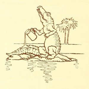 How Doth the Little Crocodile by Lewis Carroll