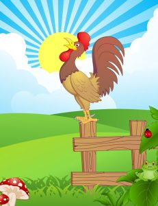 Morning on the Farm nursery rhyme by Kenn Nesbitt