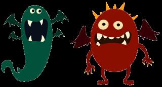 Funny Halloween demon poem for kids