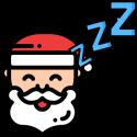 Sleeping Santa by Kenn Nesbitt