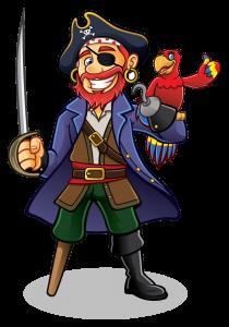 The Life of a Pirate Ain't Easy by Kenn Nesbitt