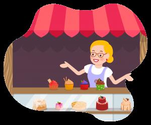 Mrs. Mandy's Candy Shop by Kenn Nesbitt